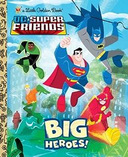 Heroes Super Friends Little Golden ebook product image