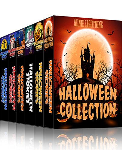 HALLOWEEN COLLECTION (7 Books in 1): Scary Stories, Halloween Activities, Funny Jokes, and More! (Haunted Halloween -
