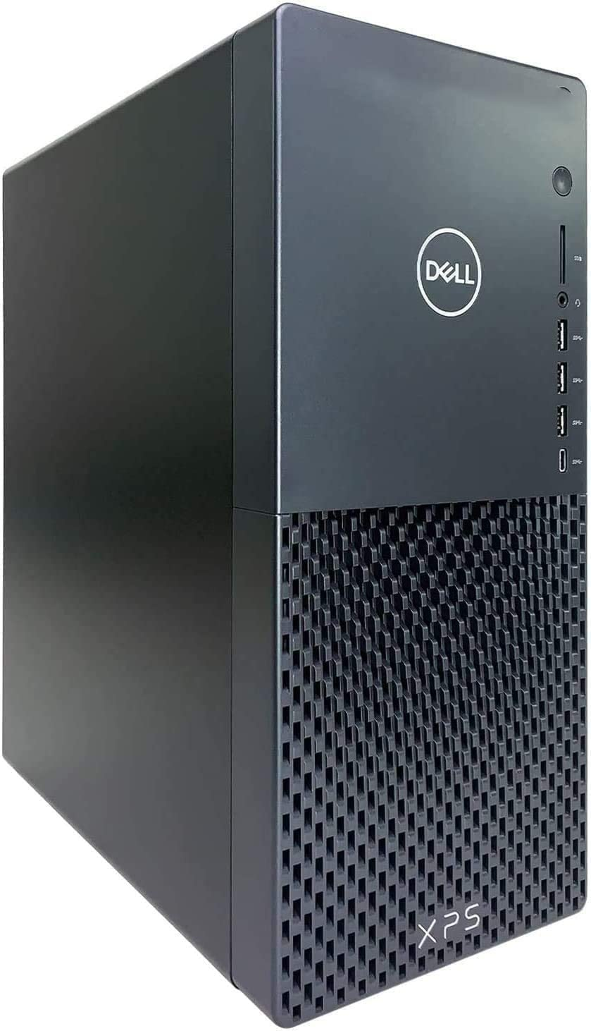 Dell XPS 8940 MiniTower Desktop, Intel Core i3-10100 up to 4.3GHz, 8GB DDR4, 1TB HDD, Dell Wired Keyboard& Mouse, WiFi& BT4.1, HDMI, 12 Month McAfee LiveSafe, Windows 10 Home, TWE Mouse Pad