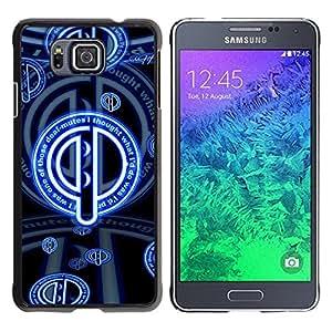 Be Good Phone Accessory // Dura Cáscara cubierta Protectora Caso Carcasa Funda de Protección para Samsung GALAXY ALPHA G850 // Deaf Mute Sign