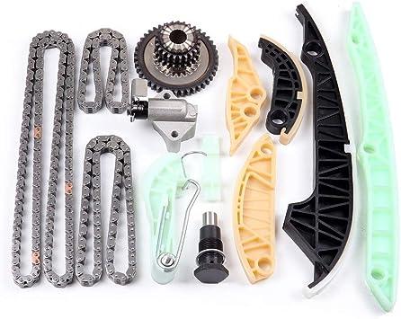 A6 Eos A4 GTI DNJ TK805 Timing Chain Kit for 2008-2013 // Audi Passat Tiguan A4 Quattro Q5 TT-Quattro // 2.0L // DOHC Jetta A3 Quattro A5 Volkswagen // A3 A6 Quattro CC A5 Quattro Beetle