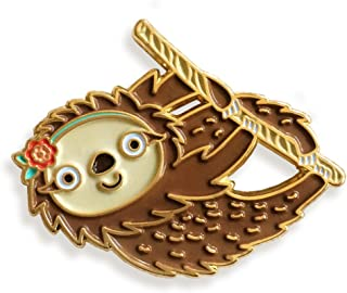 product image for Night Owl Paper Goods Sloth Enamel Lapel Pin