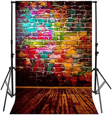 Purple 8x10 FT Photo Backdrops,Arabesque Hippie Style Authentic in Moroccan Vivid Tones Artsy Motif Background for Party Home Decor Outdoorsy Theme Vinyl Shoot Props Multicolor