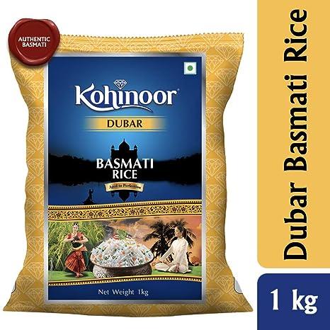 Kohinoor Dubar Authentic Basmati Rice, 1 Kg