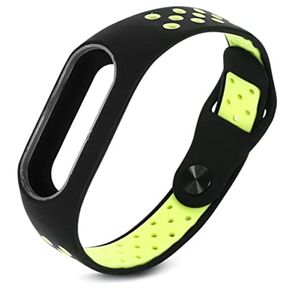 Lookatool Xiaomi Mi Band 2 Replacement Strap, Fashion Lightweight Ventilate  Smart Wrist Strap Wristband For Xiaomi Mi Band 2