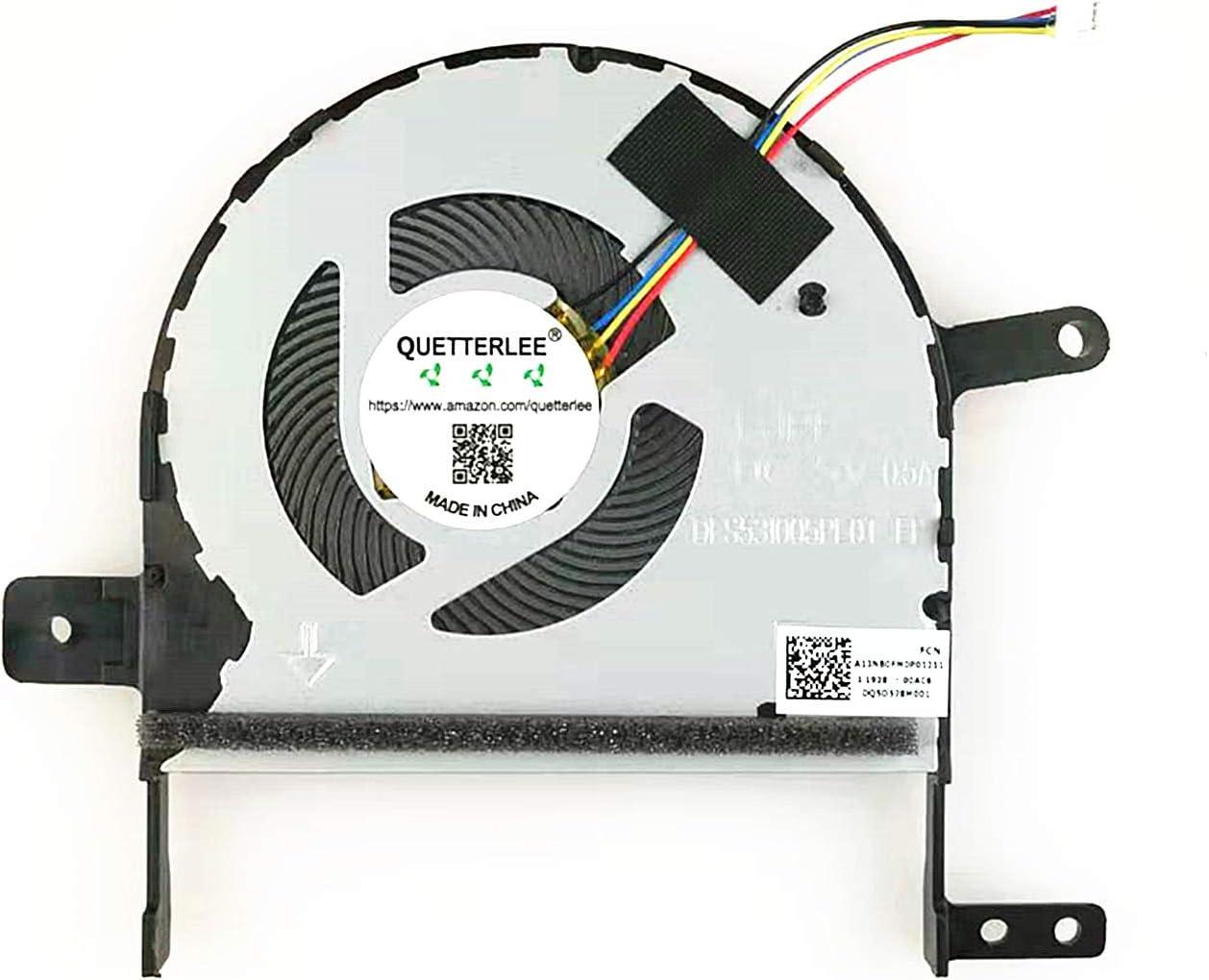CPU Cooling Fan DFS531005PL0T FJPP A13NB0FM0P01211 ASUS S15