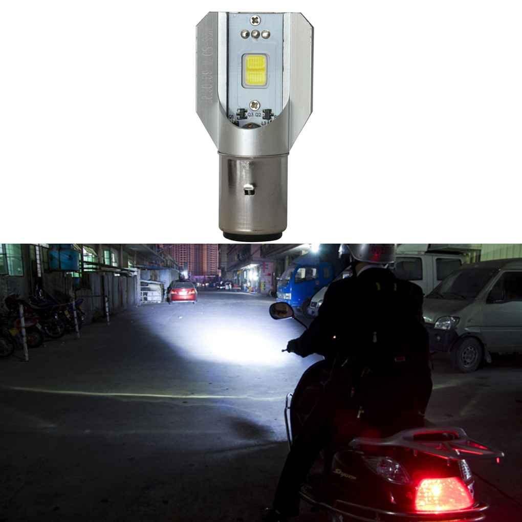 Minzhi DC 6V-80V H6 BA20D COB 12W Motorcycle LED Headlight High Brightness Energy Saving Motorbike Lamps Bulbs amzMinzhi236610