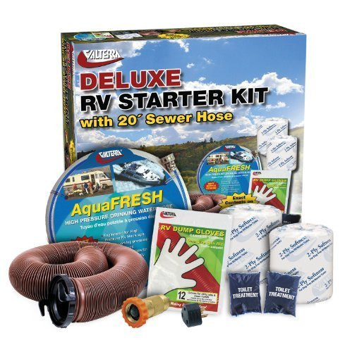 Valterra K88108 Deluxe RV Accessory Starter Kit with Eco-Force by Valterra