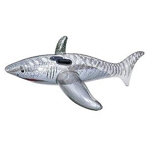 Swimline Ride-On Shark Pool Toy