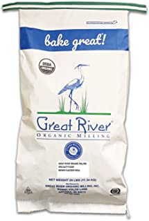 product image for Great River Organic Milling, Specialty Flour, Brown Flaxseed Meal, Organic, 25-Pounds (Pack of 1)