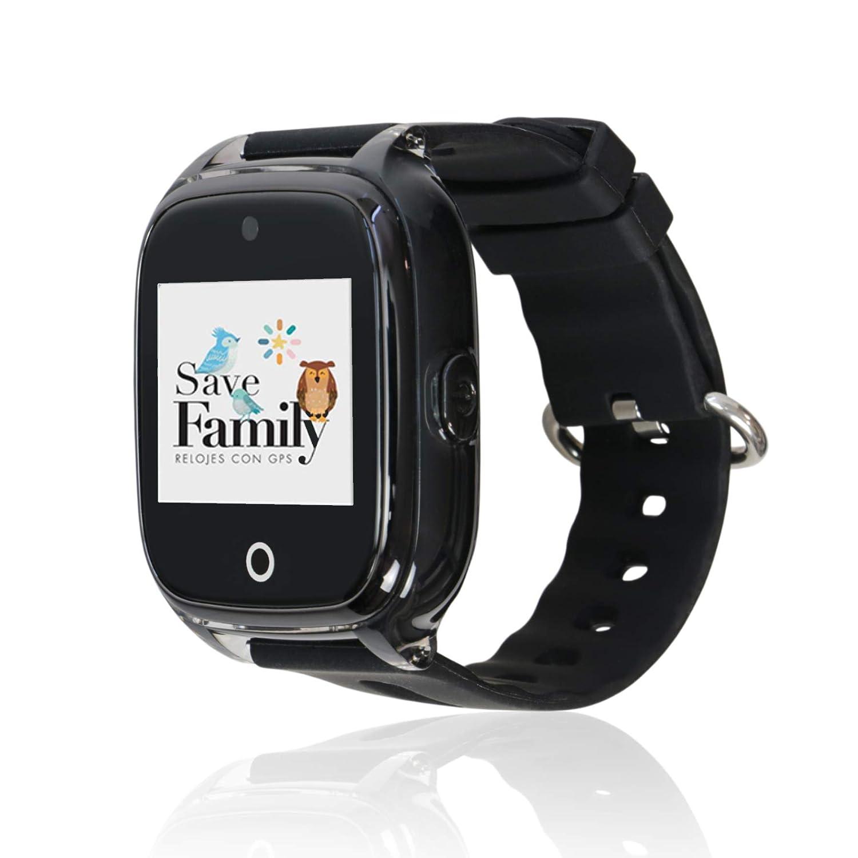 Reloj con GPS para niños Save Family Modelo Superior Acuático con Cámara. Smartwatch con botón SOS, Permite Llamadas y Mensajes. Resistente al Agua ...