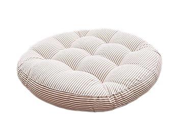 Amazon.com: Tourequi - Cojines para silla (algodón y lino ...