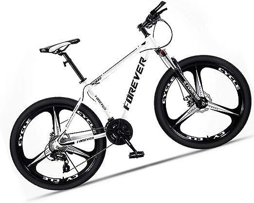 LFDHSF Bicicleta de montaña para Hombres y Mujeres, Bicicleta de ...