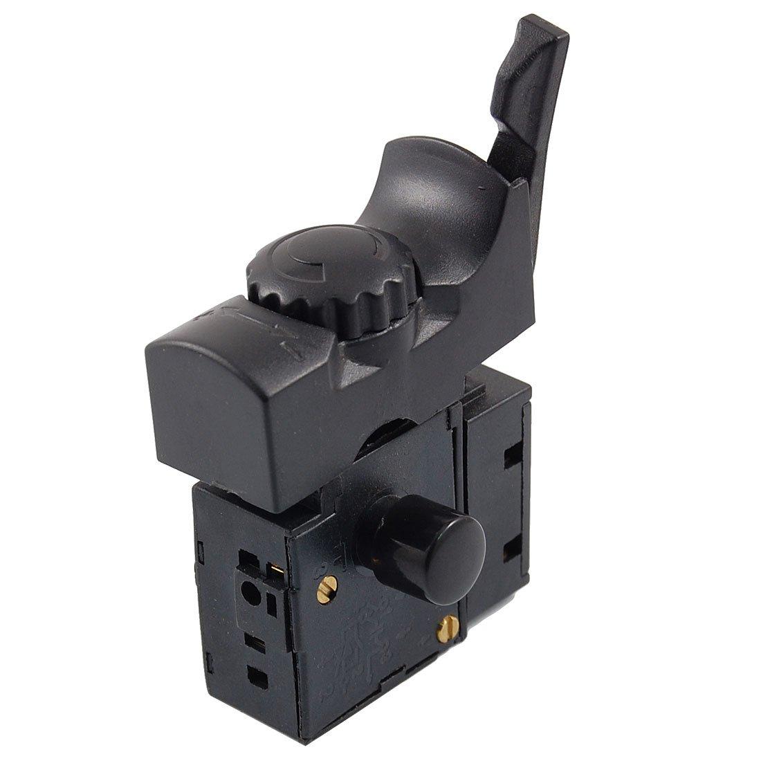 Interruptor de gatillo con control de velocidad para taladro el/éctrico CA 250/V 6/A