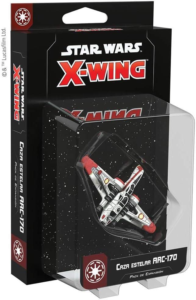 Fantasy Flight Games- SW X-Wing 2.0 ARC-170 Starfighter - Español, Color (SWZ33ES): Amazon.es: Juguetes y juegos