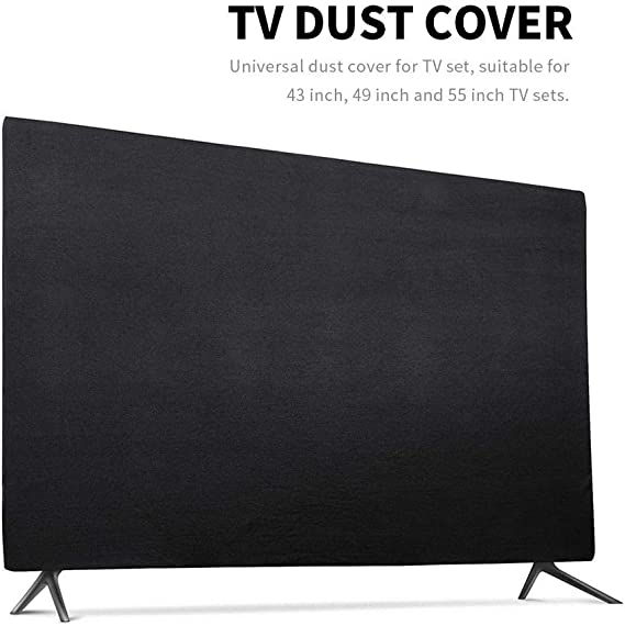 Hamkaw 43 a 55 pulgadas TV cubierta, exterior TV fundas - impermeable y a prueba de polvo - resistente a los arañazos, Smart TV Universal Protector para LED, LCD, Plasma TV: Amazon.es: Hogar