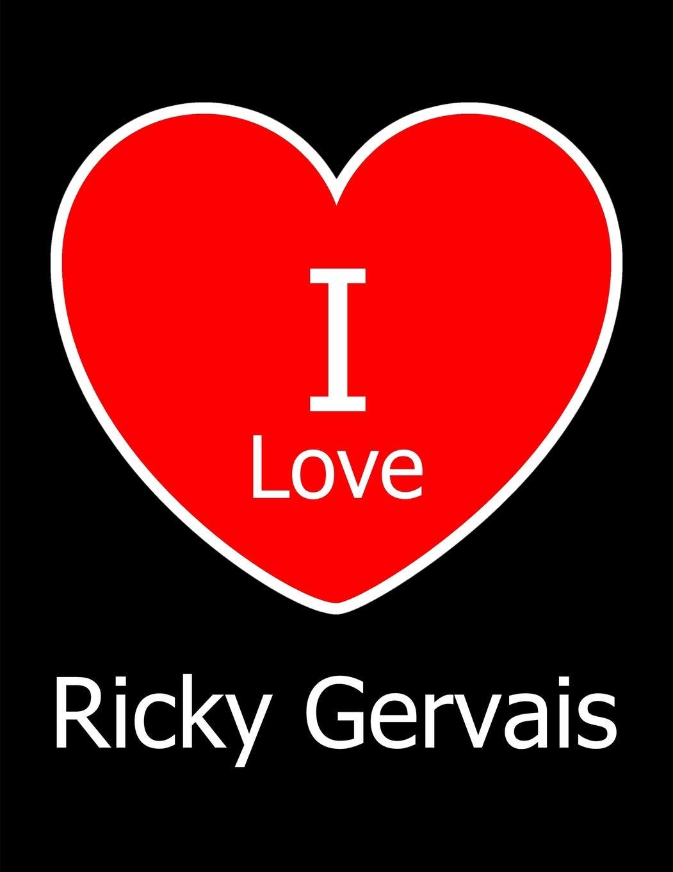 I Love Ricky Gervais: Large Black ...