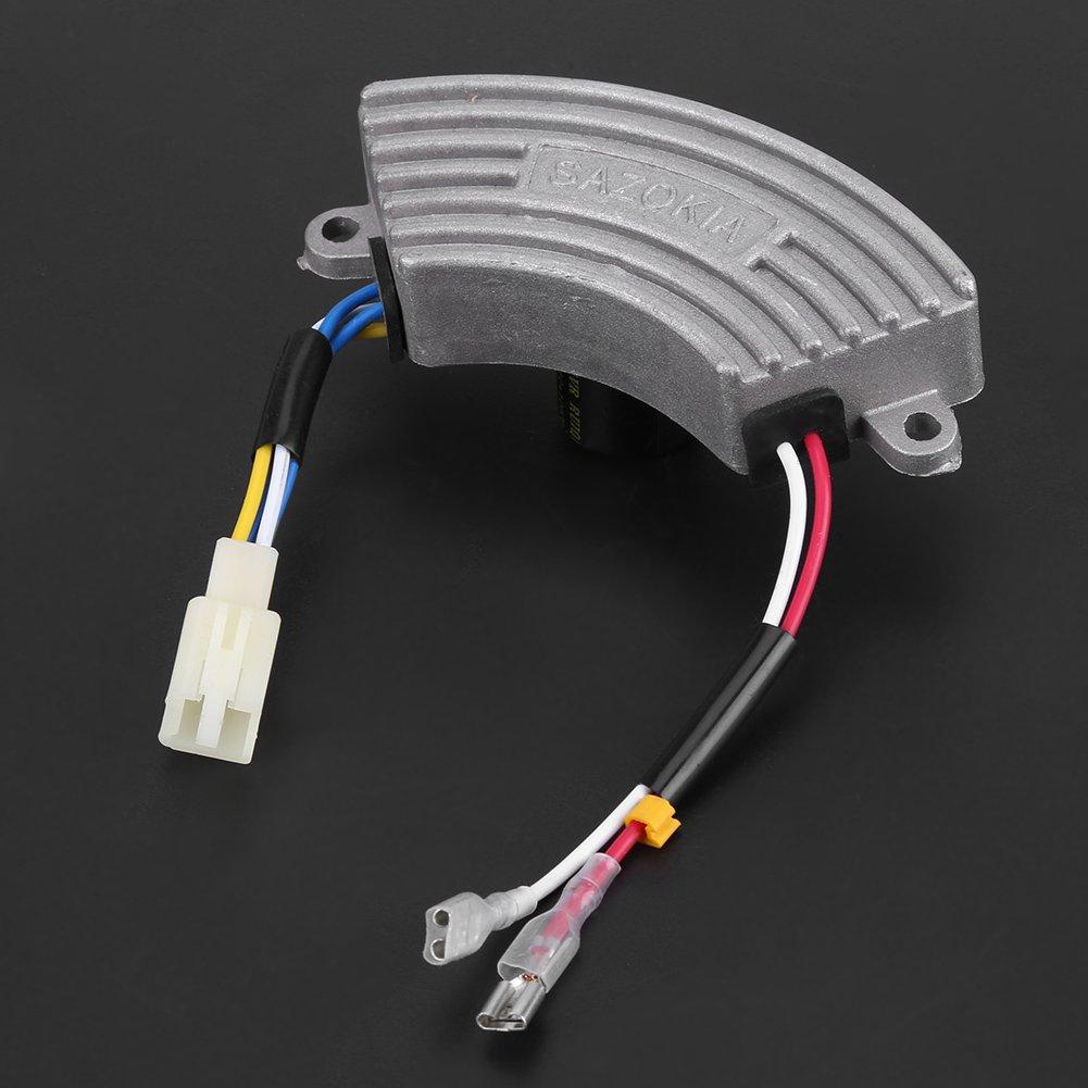 Arc-Shaped Automatic Voltage Regulator AVR for 3.5KW-6.5KW Single Phase Aluminum Universal Adjustable Voltage Regulator