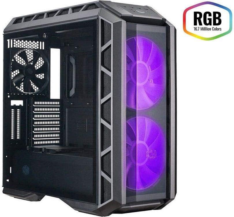 YLJYJ Caja de Ordenador, PC Gaming,ATX, Premium ATX Mid Tempered Glass Gaming Case: Amazon.es: Deportes y aire libre