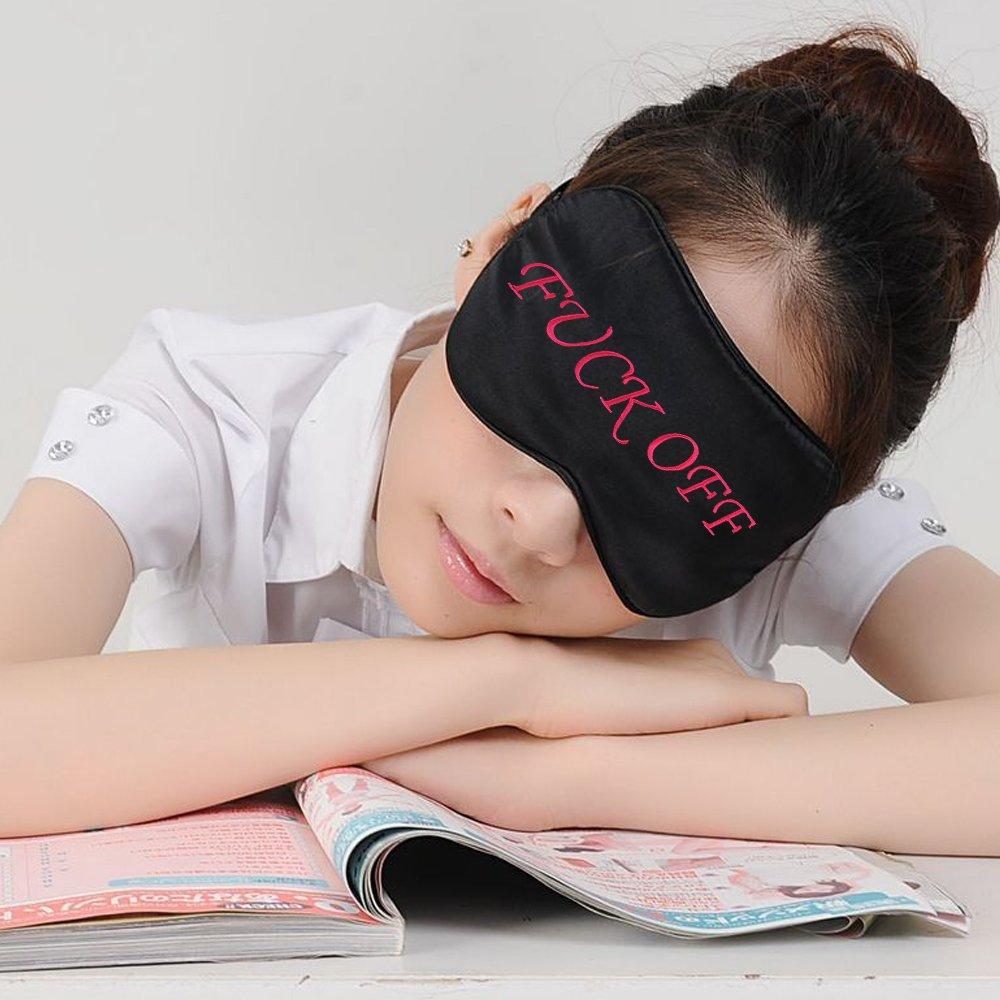 Fitglam Natural Silk Sleep Mask, Best Sleeping Mask Eye Mask Eye Cover for Travel, Nap, Meditation, Blindfold with Adjustable Strap for Men, Women (2 Pack) by fitglam (Image #4)
