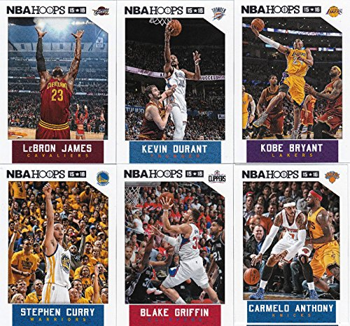 SHOPUS | 2015 2016 Hoops NBA All Stars Collection Special