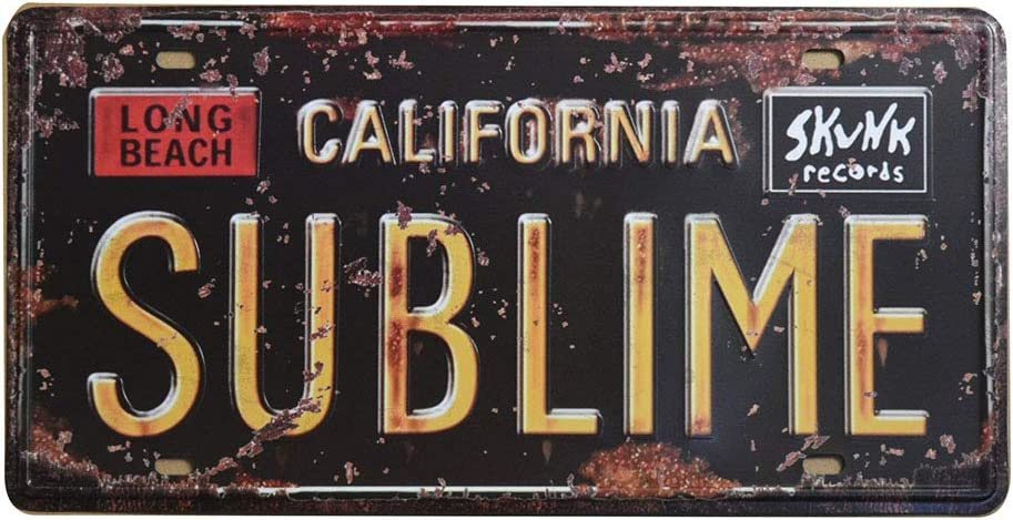 Auto Number Tags 6 X 12//15x30cm US States Historical Tin Sign Utah 759 Embossed Retro Vintage License Plate
