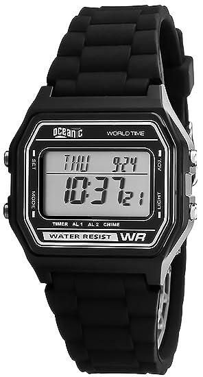 Oceanic Universal Reloj, Digital,2x Alarma,Cronómetro,Resistente al agua 100m, Hora mundial, OD6Y7N4/1: Amazon.es: Relojes