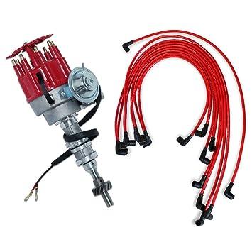 Para Ford 351 C 400 460 electronic distribuidor y 9,5 mm rojo 90 Bujía Cables: Amazon.es: Coche y moto