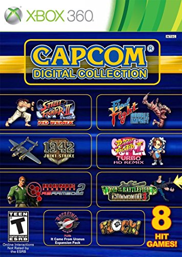 Capcom Digital Collection - Xbox 360 (Ultra Street Fighter 4 Xbox 360)
