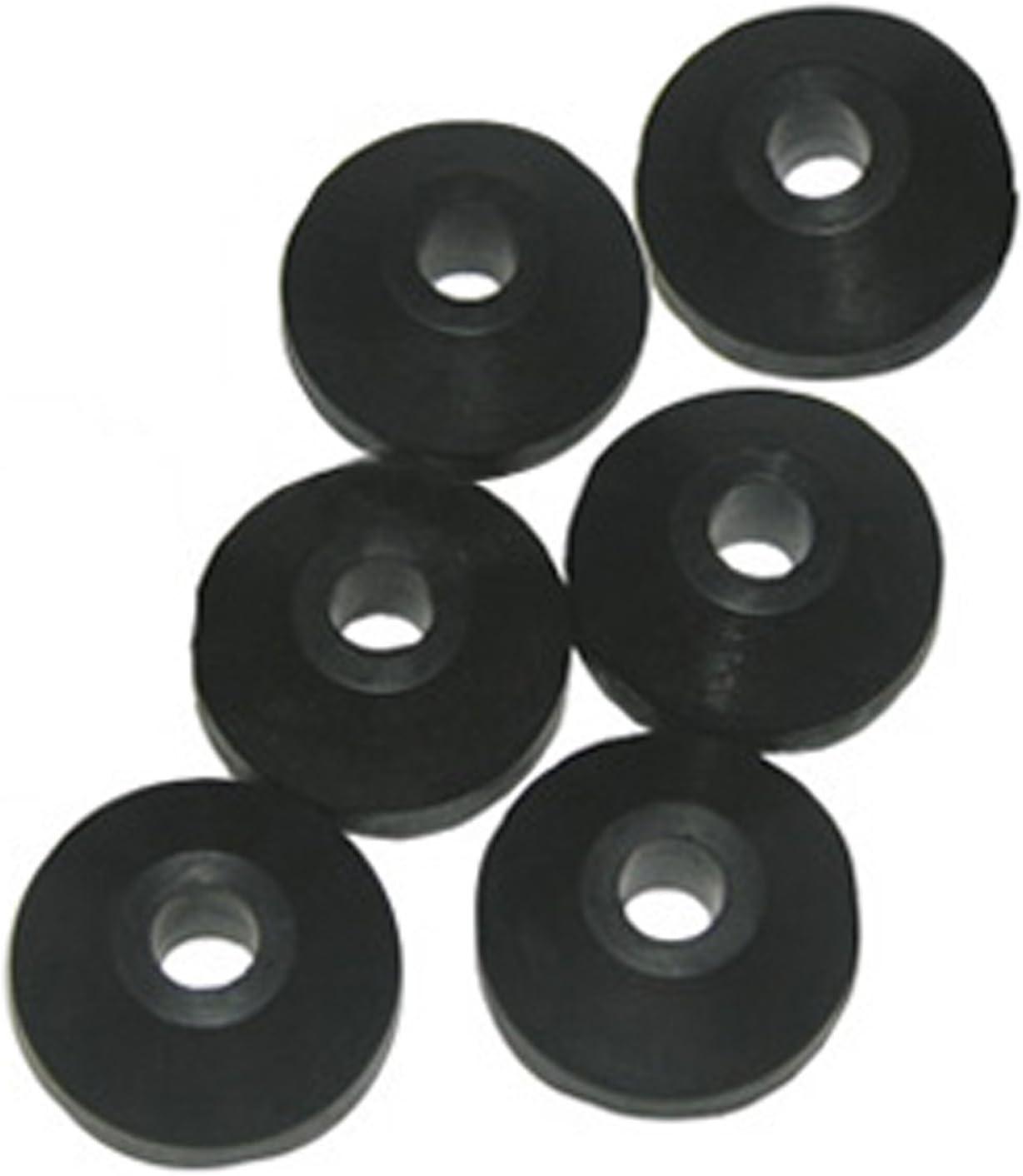 5pcs 1//2 beveled washer aluminum