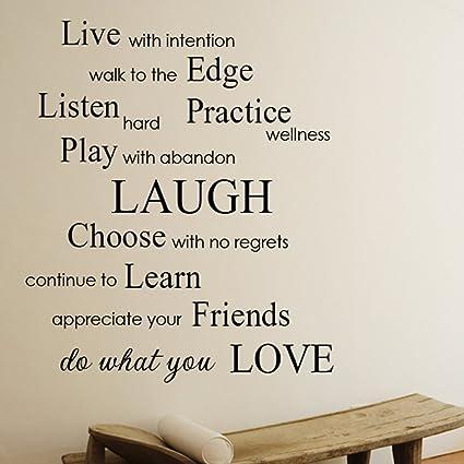 Vivir con intención, hacer lo que te gusta - inspirado frases y ...