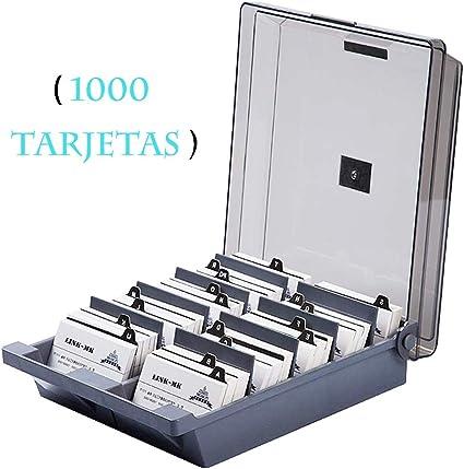 CATEKRO Caja de almacenamiento para portatarjetas de visita de ...