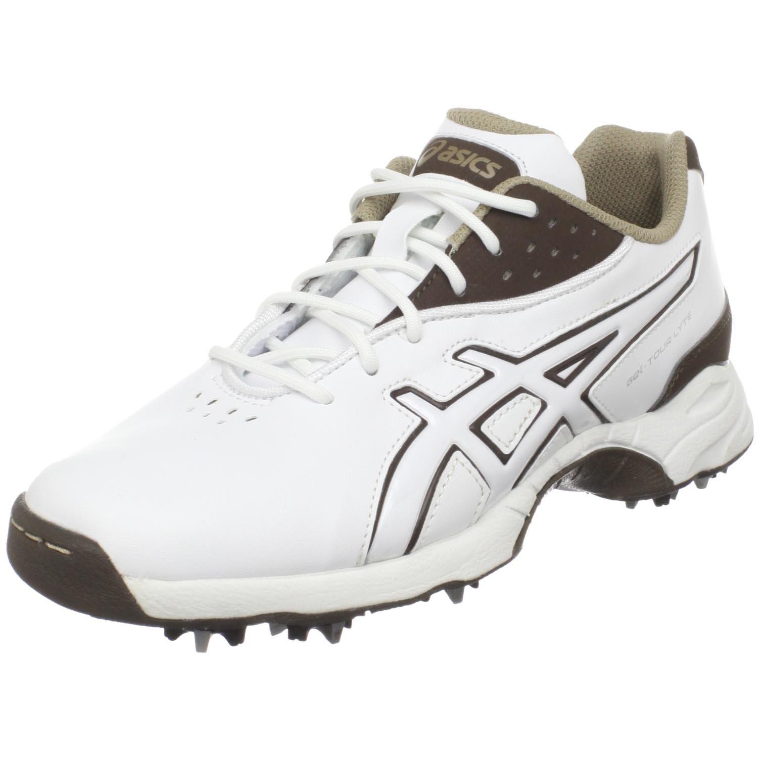 ASICS Women's GEL-Tour Lyte Golf Shoe,White/Coffee/Taupe,10.5 M