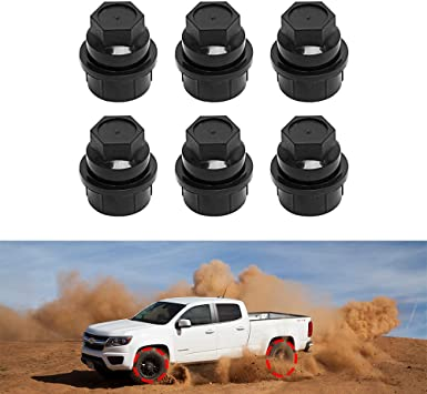 5 LUG NUT COVER Fit CHEVY GMC SILVERADO 1500 Outside Thread LUG NUTS