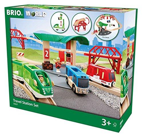 BRIO Travel Station Set (Metro Suitcase)