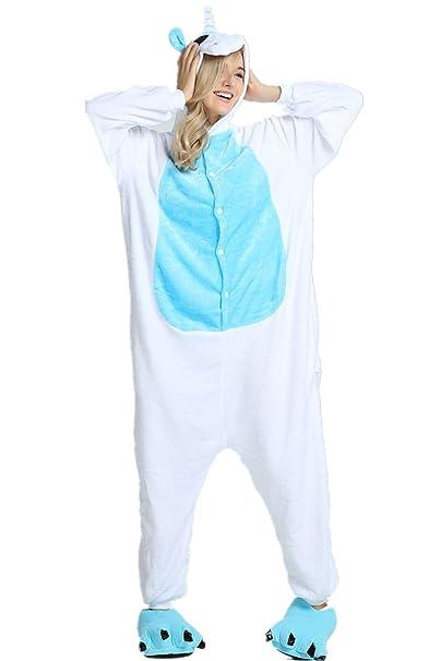 Amazon.com: missley – Unicornio, pijama Unisex para adulto ...