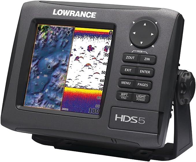 Lowrance HDS-5 Gen2 - GPS marinos de 5