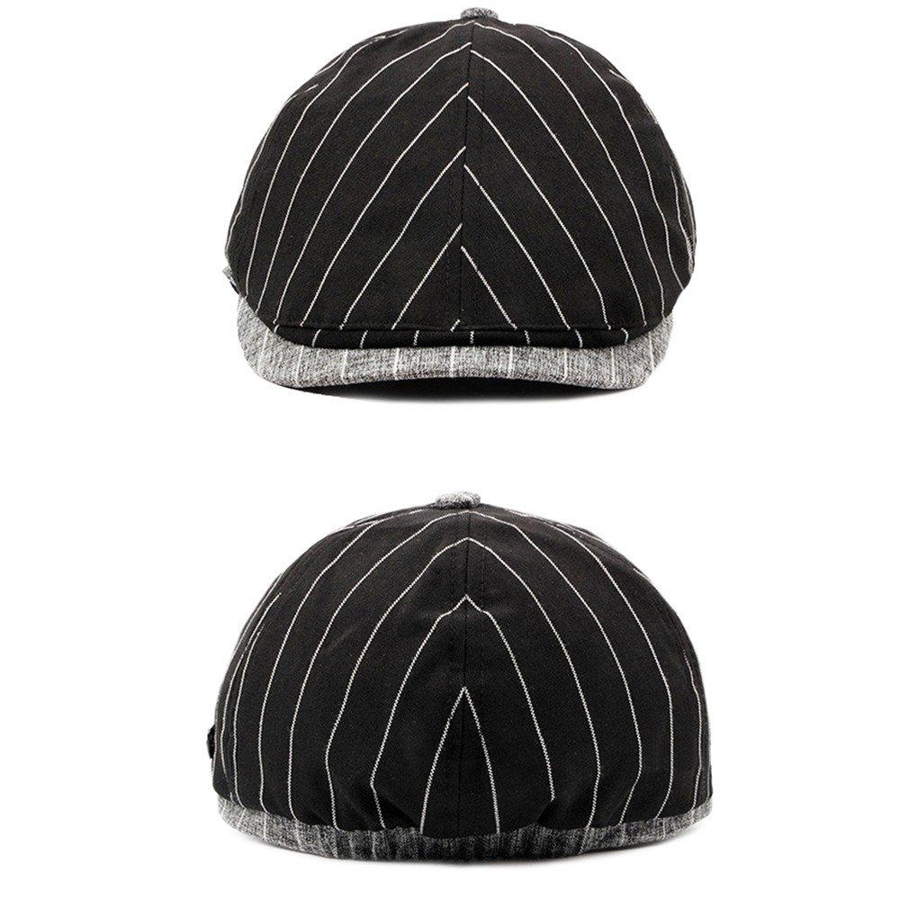 Peaked Cap Flat Cap Men Boys Cotton Spring Autumn Winter Hat