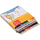 72 Color Premium Pre-Sharpened Oil Based Colored Pencils Set for Kids Adults Artist Art Drawing Sketching Writing Artwork Coloring Books