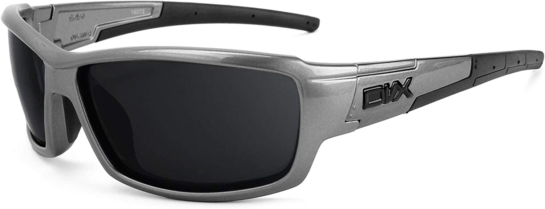 Revant Verres de Rechange pour DVX Eyewear Noise - Compatibles avec les Lunettes de Soleil DVX Eyewear Noise Gris Vert - Polarisés