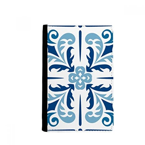 beatChong Marruecos Azul Flor Decorativa Monedero Pasaporte ...
