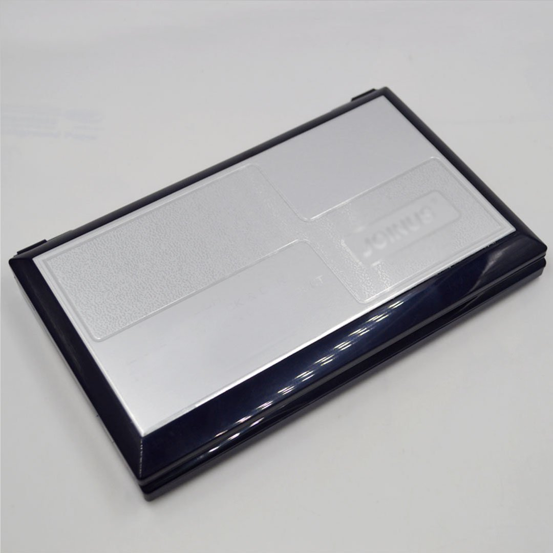 CLARA 16-Digit Basic Folding Compact Calculator Large LCD Flip Over Calculator Solar and AAA Battery Dual Power Calculator Black by CLARA (Image #5)