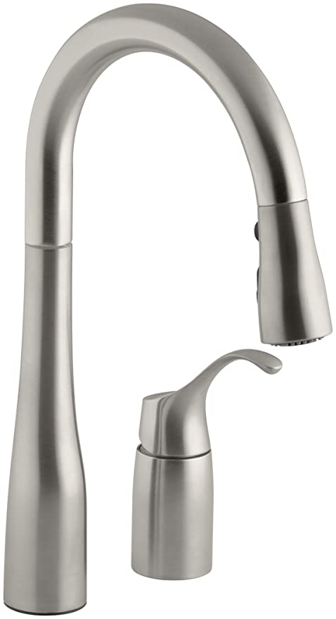 review faucets kohler image kitchen simplice featured k faucet