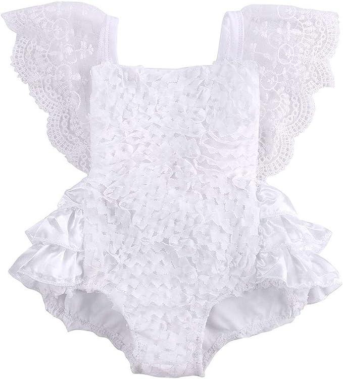 Amazon.com: Bebé recién nacido niña torta Smash traje de una ...