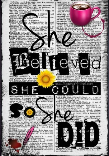She Believed She Could So She (Inspiration Journal)