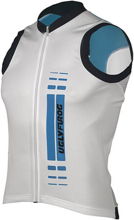 Uglyfrog Radtrikot /Ärmellos Vest Herren Mode Sport /& Freizeit MTB Fahrradbekleidung Radsport Hemd Polyester Gem/ütlich MJZ01