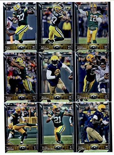5 YEARS OF TOPPS NFL TEAM SETS (2011-2015) Green Bay Packers (Nfl 2011 Topps Set)