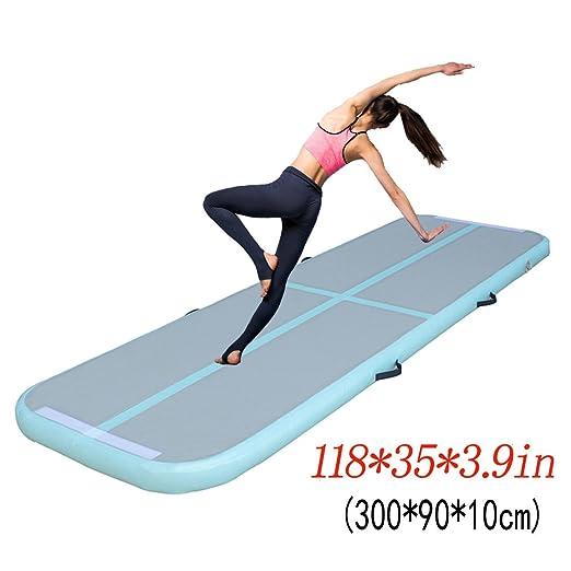 Lyz para gimnasia, hinchable Air pista Tumbling Mat, aire ...