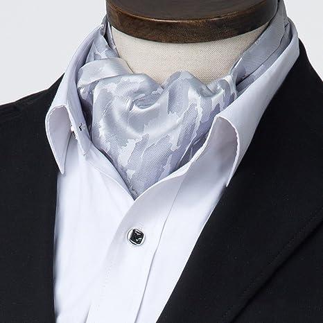 LIANGJUN Elegant Hombres Seda Corbata Bufanda Corbata Bufanda ...