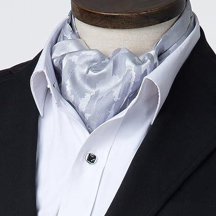 Herren Halstuch Ascot Schals Paisley Muster Hochzeit Party Business Krawatte